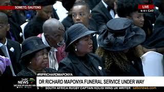 Maponya Funeral | Dr Sam Motsuenyane pays tribute to Dr Maponya