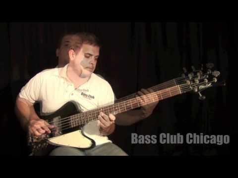 Bass Club Chicago Demos - Mike Lull T5 Thunderbird Bass