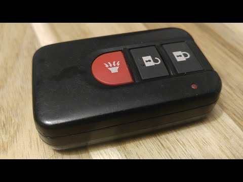 2003 2004 INFINITI FX35 FX45 Key Fob Battery Replacement – EASY DIY