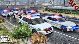 SHERIFF MONDAY| POLK COUNTY PATROL!!!| #117 (GTA 5 REAL LIFE PC POLICE MOD)
