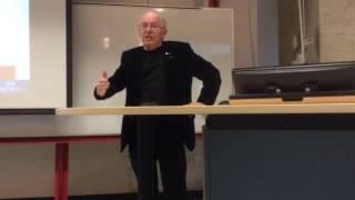 Bernard LANDRY ex premier ministre Québec UQAM CIFFOP 1