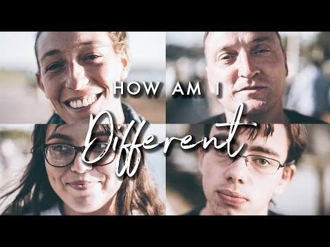 Day 38 - HOW ARE YOU DIFFERENT?