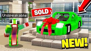 BUYING A BRAND *NEW* CAR IN MINECRAFT!