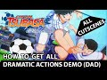 - Captain Tsubasa - All Dramatic Actions Demo -  DAD  - Memory Of A Fierce Battle - Trophy Guide