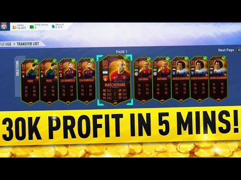 30k PROFIT IN 5 MINUTES! ULTIMATE SCREAM CARD SNIPING! FIFA 19 TRADING METHOD