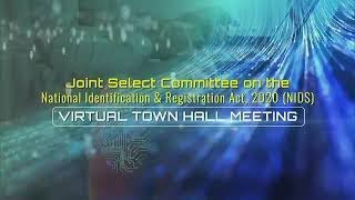Joint Select Committee on NIDS Act, 2020 Part 4