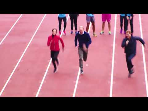 Their Royal Highnesses Relay Race | Heads Together