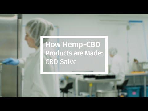 How Hemp-CBD Products are Made: CBD Salve