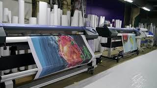 Широкоформатная печать баннеров в Москве в типографии