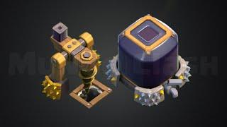 Layout Para Proteger Elixir Negro CV 7 (Dark Elixir Base TH7)