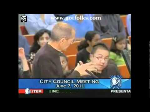 EXCLUSIVE - Steve Jobs Last  Public Appearance at Cupertino City Council