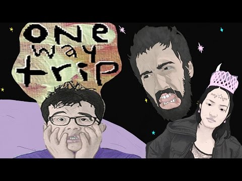ONE WAY TRIP - Tripping Balls & DYING! #1 (Visual Novel / PS4 / Let's Play)