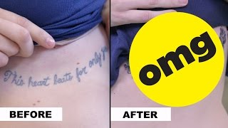 People Cover Up Regrettable Tattoos
