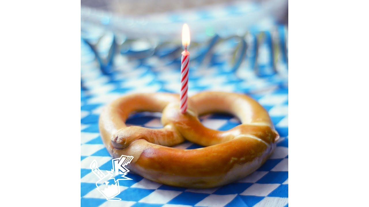 Bread Birthday Cake