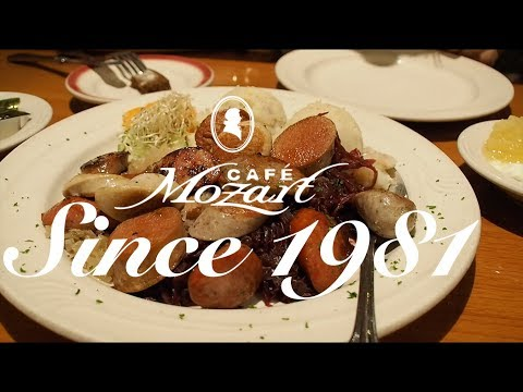 [Cafe Mozart] HISTORIC GERMAN SAUSAGES - Washington, D.C.