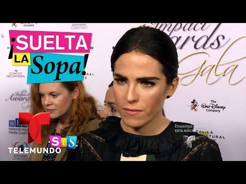 Actores hablan de la polémica relacionada con Karla Souza | Suelta La Sopa | Entretenimiento