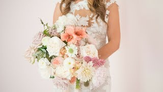 Mayesh Design Star: Garden Style Bridal Bouquet