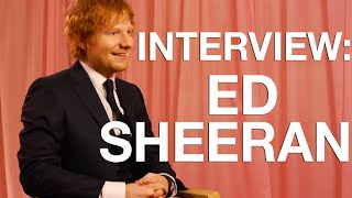 Backstage Interview with Ed Sheeran
