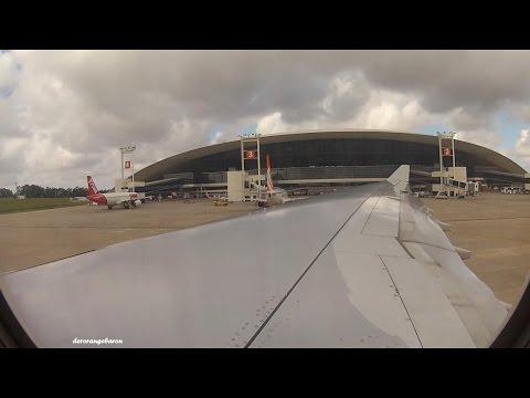 Iberia Airbus A330-302 EC-LZX - Takeoff from Montevideo Carrasco Intl. Airport/Uruguay
