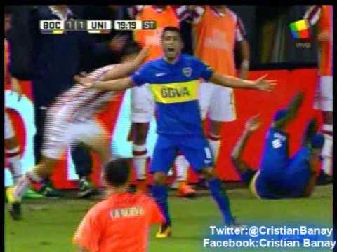 Boca 2 Union 1 (Relato Mariano Closs) Torneo Primera Division 2016