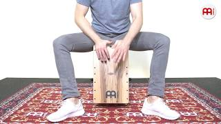 MEINL Percussion - Artisan Edition Cajon - Seguiriya Line - Indian Heartwood - AESELIH