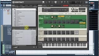 Создание музыки: VSTi Сэмплер Kontakt. Урок 4- Браузер