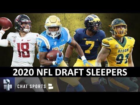 2020 NFL Draft Sleepers Ft. Joshua Kelley, Anthony Gordon, Khaleke Hudson And Derrek Tuszka