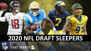 2020 NFL Draft Sleepers Ft. Joshua Kelley, Anthony Gordon, Khaleke Hudson And Derrek Tuszka