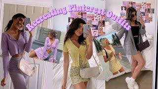 RECREATING 5 TRENDY PINTEREST OUTFITS