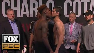 Jermell Charlo vs Jorge Cota | WEIGH-INS | PBC ON FOX