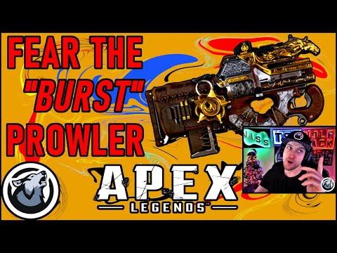 """VISS FEAR THE """"BURST"""" PROWLER! w/ CALIVERSE and BAKERFPS  APEX LEGENDS SEASON 3"""