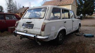Jarkon Lada 1200 Combi 1973 projekti