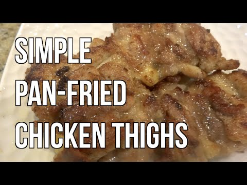 Cookin' With Grandma - Simple Pan Fried Chicken Thighs 鸡扒 [HQ 1080p]