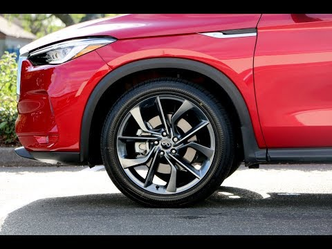 2019 INFINITI QX50 ESSENTIAL With Sensory ProAssist And ProActive