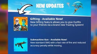 The OFFICIAL Gifting System Release! (Fortnite Battle Royale)