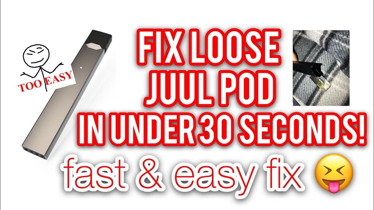 FIX LOOSE JUUL PROBLEM IN UNDER 30 SECONDS!