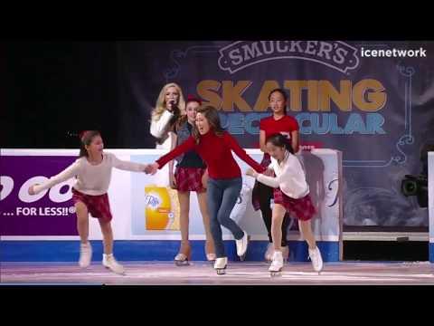 Bailey Coats and Kristi Yamaguchi  2018 US Nationals Gala Exhibition Interlude NC