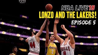 NBA LIVE 18 DYNASTY MODE EPISODE 5 | LONZO BALL & THE LAKERS!