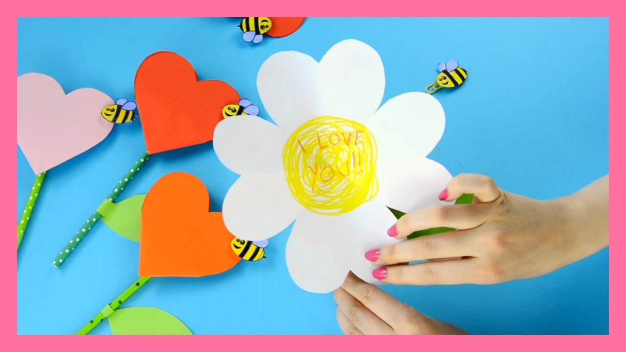 Lovely Mother's Day Craft For Kids
