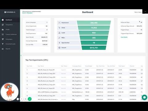 Metadata.io: 2 Minute Platform Overview