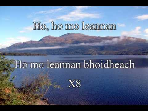 Loch Lomond Lyrics - Runrig Ft. The Tartan Army