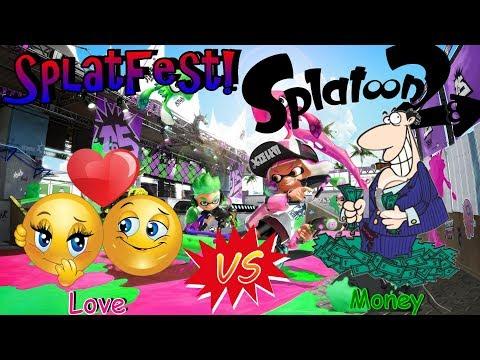 Splatoon 2 | SplatFest | Love vs. Money | Live | Join us!
