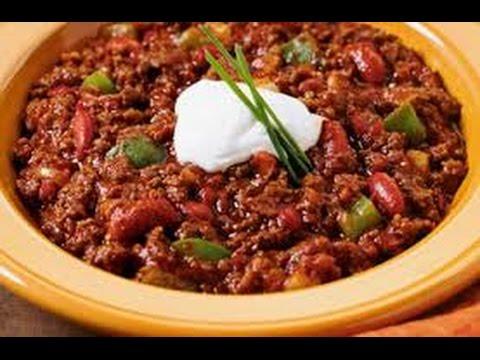 chilli con carne recipe how to make chilli con carne all recipes in 1 kitchen youtube. Black Bedroom Furniture Sets. Home Design Ideas