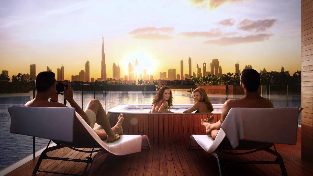 The Floating Seahorse In Dubai YouTube