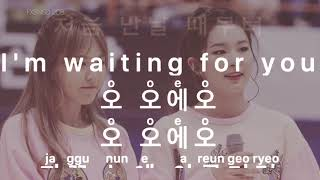 [KARAOKE] Wendy x Seulgi - I can only see you (Hwarang OST)