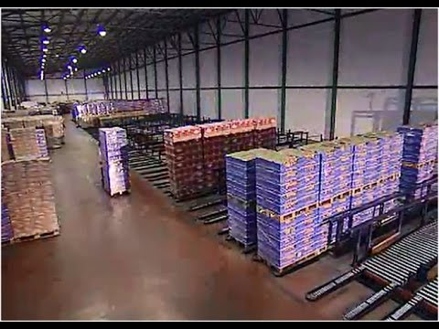 An automated warehouse on a food logistics centre | Mecalux UK