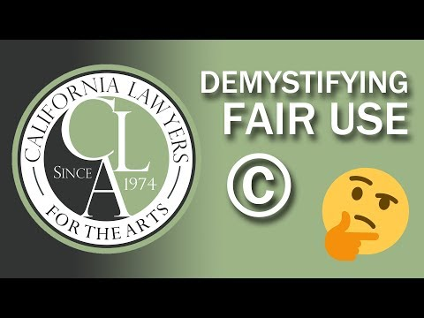 Demystifying Fair Use: A Crash Course for Authors