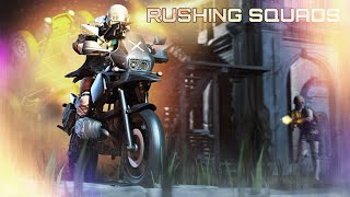RUSHING SQUADS | GAME HIGHLIGHTS | SQUAD PLAYS | PUBG MOBILE | NBT online