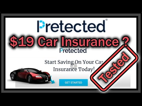 Pretected $19 Car Insurance Steal or SCAM? (Cheap Auto Insurance)