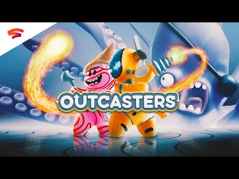 Outcasters Announce Trailer   Only on Stadia